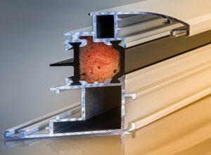 Jól szigetelő műanyag ablak
